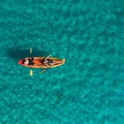 Kayaking around islands pula