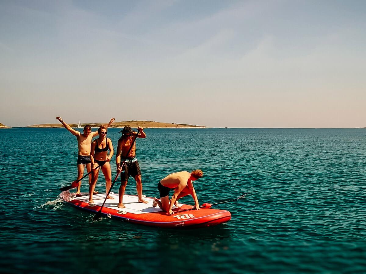 Big SUP Rental - Jistra Adventures